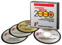 CD / DVD Набор упакован программы, файлы справки, кадры, шоу и музыка.